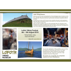 "2010: Advertisement ""Lofotr Vikingmuseum"" for EuroREA"