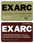 2015: EXARC membership cards