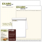 2017-04: EXARC Stationary, EXARC notebook & Business Cards