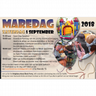 2018 August: advert for the Marebuurt newspaper about upcoming Event
