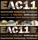 2018-08: flyer en advert for Social Media EXARC EAC11